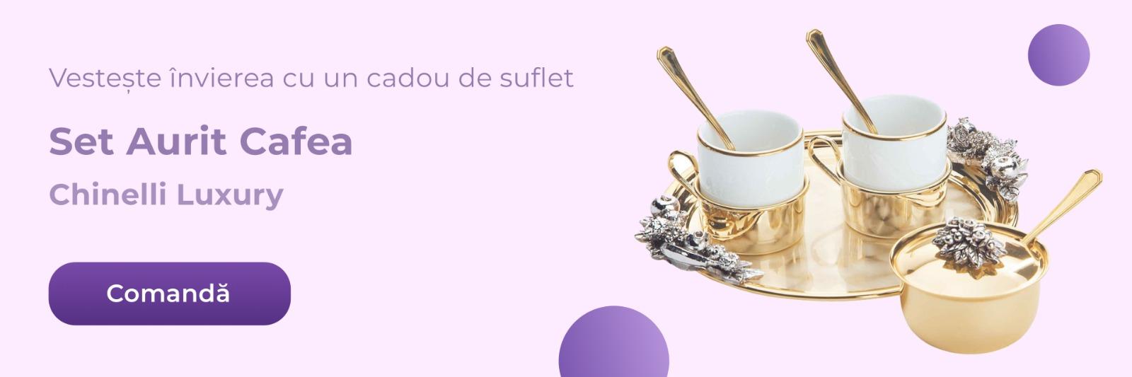 Set aurit cafea