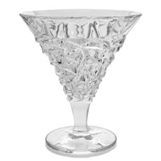 Set 6 Cupe Cristal pentru Inghetata Crack 330ml