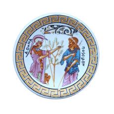 Platou-Ceramica-Foita-Aur-24-k-handmade-in greece-8-cm-436