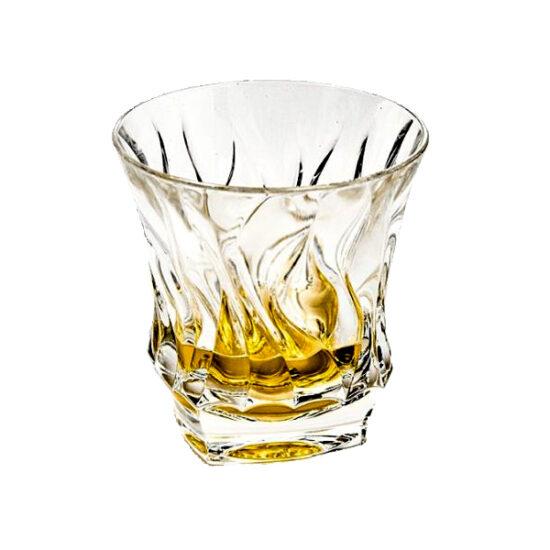 Set 6 pahare whisky Bamboo Bohemia 300 ml 3583