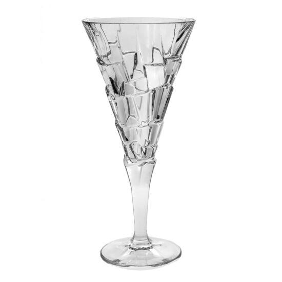Set 6 Pahare Cristal Vin Alb Crack Cristal Bohemia 230ml